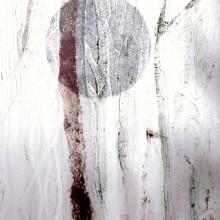 Winter Moon : Collagraph : Annabelle Deutsch